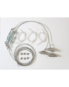 680 Earth Anchor Tree Kit with Cable Clamps
